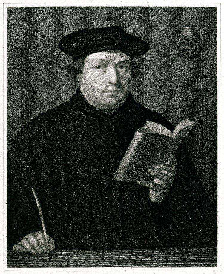 Martin Luther - Pendulum dowsing history