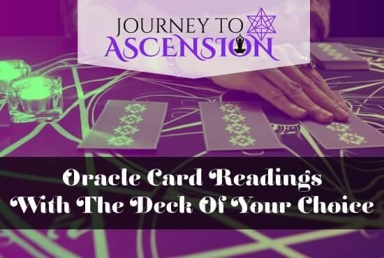 Spiritual services - Card readings